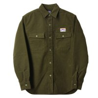 <img class='new_mark_img1' src='https://img.shop-pro.jp/img/new/icons50.gif' style='border:none;display:inline;margin:0px;padding:0px;width:auto;' />【STANDARD CALIFORNIA】SD STRETCH MOLESKIN CLASSIC FIELD SHIRT OLIVE シャツ スタンダードカリフォルニア