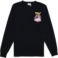【TES/テス】TES RIPPER BUHI LONG SLEEVE TEE BLACK ロンT THE ENDLESS SUMMER/エンドレスサマー