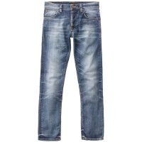 <img class='new_mark_img1' src='https://img.shop-pro.jp/img/new/icons14.gif' style='border:none;display:inline;margin:0px;padding:0px;width:auto;' />【NUDIE JEANS/ヌーディージーンズ】GRIM TIM 「WORN IN BROKEN」 グリム ティム スリムストレート ボタンフライ
