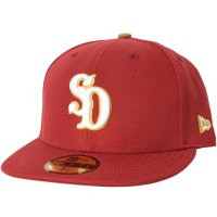 <img class='new_mark_img1' src='https://img.shop-pro.jp/img/new/icons14.gif' style='border:none;display:inline;margin:0px;padding:0px;width:auto;' />【STANDARD CALIFORNIA】NEW ERA×SD 59 FIFTY LOGO CAP RED ニューエラ スタンダードカリフォルニア