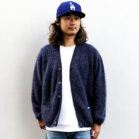 <img class='new_mark_img1' src='https://img.shop-pro.jp/img/new/icons14.gif' style='border:none;display:inline;margin:0px;padding:0px;width:auto;' />【STANDARD CALIFORNIA】SD MOHAIR CARDIGAN NAVY モヘアニット カーディガン スタンダードカリフォルニア