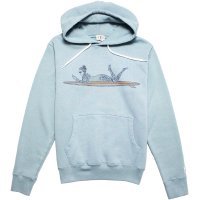 <img class='new_mark_img1' src='https://img.shop-pro.jp/img/new/icons14.gif' style='border:none;display:inline;margin:0px;padding:0px;width:auto;' />【TES/テス】TES MALIBU GIRL HOODIE SAX プルオーバーパーカー THE ENDLESS SUMMER/エンドレスサマー