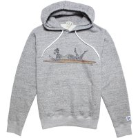 <img class='new_mark_img1' src='https://img.shop-pro.jp/img/new/icons14.gif' style='border:none;display:inline;margin:0px;padding:0px;width:auto;' />【TES/テス】TES MALIBU GIRL HOODIE MIX GRAY プルオーバーパーカー THE ENDLESS SUMMER/エンドレスサマー