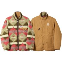 <img class='new_mark_img1' src='https://img.shop-pro.jp/img/new/icons14.gif' style='border:none;display:inline;margin:0px;padding:0px;width:auto;' />【STANDARD CALIFORNIA】SD FLEESTRETCH REVERSIBLE JACKET BEIGE/BROWN リバーシブルフリースジャケット スタンダードカリフォルニア