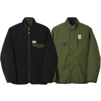 <img class='new_mark_img1' src='https://img.shop-pro.jp/img/new/icons14.gif' style='border:none;display:inline;margin:0px;padding:0px;width:auto;' />【STANDARD CALIFORNIA】SD FLEESTRETCH REVERSIBLE JACKET OLIVE/BLACK リバーシブルフリースジャケット スタンダードカリフォルニア