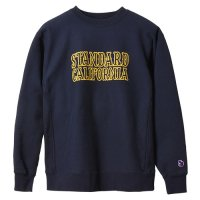 <img class='new_mark_img1' src='https://img.shop-pro.jp/img/new/icons14.gif' style='border:none;display:inline;margin:0px;padding:0px;width:auto;' />【STANDARD CALIFORNIA】SD R.W LOGO SWEAT NAVY クルーネックスウェット スタンダードカリフォルニア