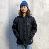 <img class='new_mark_img1' src='https://img.shop-pro.jp/img/new/icons14.gif' style='border:none;display:inline;margin:0px;padding:0px;width:auto;' />【STANDARD CALIFORNIA】SD BOA HOOD COACH JACKET BLACK ボアフードコーチジャケット スタンダードカリフォルニア