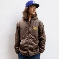 <img class='new_mark_img1' src='https://img.shop-pro.jp/img/new/icons50.gif' style='border:none;display:inline;margin:0px;padding:0px;width:auto;' />【STANDARD CALIFORNIA】SD BOA HOOD COACH JACKET BROWN ボアフードコーチジャケット スタンダードカリフォルニア