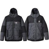 <img class='new_mark_img1' src='https://img.shop-pro.jp/img/new/icons24.gif' style='border:none;display:inline;margin:0px;padding:0px;width:auto;' />【STANDARD CALIFORNIA】SD STRETCH REVERSIBLE PUFF PARKA BLACK/CHARCOAL リバーシブルプリマロフトジャケット スタンダードカリフォルニア
