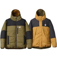<img class='new_mark_img1' src='https://img.shop-pro.jp/img/new/icons14.gif' style='border:none;display:inline;margin:0px;padding:0px;width:auto;' />【STANDARD CALIFORNIA】SD STRETCH REVERSIBLE PUFF PARKA OLIVE/BEIGE リバーシブルプリマロフトジャケット スタンダードカリフォルニア