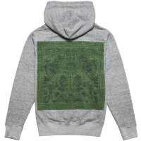<img class='new_mark_img1' src='https://img.shop-pro.jp/img/new/icons14.gif' style='border:none;display:inline;margin:0px;padding:0px;width:auto;' />【TES/テス】TES CALM BANDANA HOODIE MIX GRAY プルオーバーパーカー THE ENDLESS SUMMER/エンドレスサマー