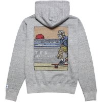<img class='new_mark_img1' src='https://img.shop-pro.jp/img/new/icons14.gif' style='border:none;display:inline;margin:0px;padding:0px;width:auto;' />【TES/テス】TES HURRICANE SURFER HOODIE MIX GRAY プルオーバーパーカー THE ENDLESS SUMMER/エンドレスサマー