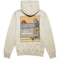 <img class='new_mark_img1' src='https://img.shop-pro.jp/img/new/icons14.gif' style='border:none;display:inline;margin:0px;padding:0px;width:auto;' />【TES/テス】TES HURRICANE SURFER HOODIE BEIGE プルオーバーパーカー THE ENDLESS SUMMER/エンドレスサマー