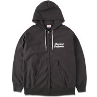 <img class='new_mark_img1' src='https://img.shop-pro.jp/img/new/icons14.gif' style='border:none;display:inline;margin:0px;padding:0px;width:auto;' />【STANDARD CALIFORNIA】SD US COTTON ZIP HOOD SCRIPT LOGO SWEAT SHIRT BLACK フルジップパーカー スタンダードカリフォルニア