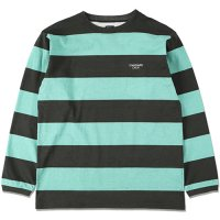 <img class='new_mark_img1' src='https://img.shop-pro.jp/img/new/icons50.gif' style='border:none;display:inline;margin:0px;padding:0px;width:auto;' />【STANDARD CALIFORNIA】SD PRINT BORDER LONG SLEEVE T GREEN ロンT スタンダードカリフォルニア