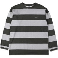 <img class='new_mark_img1' src='https://img.shop-pro.jp/img/new/icons14.gif' style='border:none;display:inline;margin:0px;padding:0px;width:auto;' />【STANDARD CALIFORNIA】SD PRINT BORDER LONG SLEEVE T GRAY ロンT スタンダードカリフォルニア