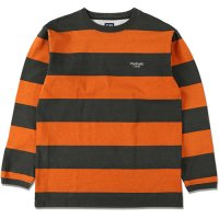 <img class='new_mark_img1' src='https://img.shop-pro.jp/img/new/icons14.gif' style='border:none;display:inline;margin:0px;padding:0px;width:auto;' />【STANDARD CALIFORNIA】SD PRINT BORDER LONG SLEEVE T ORANGE ロンT スタンダードカリフォルニア