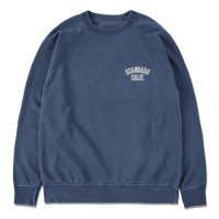 <img class='new_mark_img1' src='https://img.shop-pro.jp/img/new/icons50.gif' style='border:none;display:inline;margin:0px;padding:0px;width:auto;' />【STANDARD CALIFORNIA】SD PIMA COTTON LOGO SWEAT SHIRT NAVY クルーネック ラグランスウェット スタンダードカリフォルニア