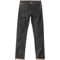 <img class='new_mark_img1' src='https://img.shop-pro.jp/img/new/icons14.gif' style='border:none;display:inline;margin:0px;padding:0px;width:auto;' />【NUDIE JEANS/ヌーディージーンズ】GRIM TIM 「DRY SELVAGE」 グリムティム セルビッチデニム スリムストレート ボタンフライ