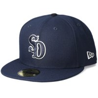 <img class='new_mark_img1' src='https://img.shop-pro.jp/img/new/icons50.gif' style='border:none;display:inline;margin:0px;padding:0px;width:auto;' />【STANDARD CALIFORNIA】NEW ERA×SD 59 FIFTY LOGO CAP NAVY ニューエラ スタンダードカリフォルニア