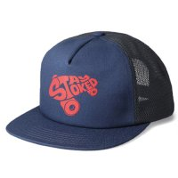 <img class='new_mark_img1' src='https://img.shop-pro.jp/img/new/icons50.gif' style='border:none;display:inline;margin:0px;padding:0px;width:auto;' />【STANDARD CALIFORNIA】SD STAY STOKED MESH CAP BLUE スナップバックキャップ スタンダードカリフォルニア