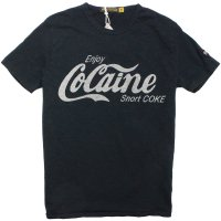 【JOHNSON MOTORS/ジョンソンモータース】COCAINE OILED BLACK Tシャツ