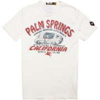 【JOHNSON MOTORS/ジョンソンモータース】PALM SPRINGS DIRTY WHITE Tシャツ