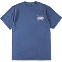 【STANDARD CALIFORNIA】SD STAY STOKED SHIELD LOGO T BLUE Tシャツ スタンダードカリフォルニア