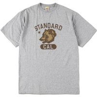 <img class='new_mark_img1' src='https://img.shop-pro.jp/img/new/icons50.gif' style='border:none;display:inline;margin:0px;padding:0px;width:auto;' />【STANDARD CALIFORNIA】SD CAL BEAR COLLEGE LOGO T GRAY Tシャツ スタンダードカリフォルニア