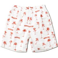 <img class='new_mark_img1' src='https://img.shop-pro.jp/img/new/icons50.gif' style='border:none;display:inline;margin:0px;padding:0px;width:auto;' />【STANDARD CALIFORNIA】SD PALM TREE SHORTS FABRIC DESIGNED BY JEFF CANHAM WHITE ショーツ スタンダードカリフォルニア