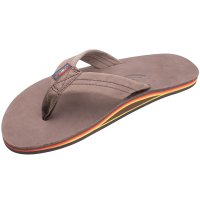 <img class='new_mark_img1' src='https://img.shop-pro.jp/img/new/icons14.gif' style='border:none;display:inline;margin:0px;padding:0px;width:auto;' />【RAINBOW SANDALS】SINGLE LAYER PREMIER LEATHER WITH ARCH SUPPORT EXPRESSO レインボーサンダル