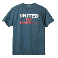 <img class='new_mark_img1' src='https://img.shop-pro.jp/img/new/icons14.gif' style='border:none;display:inline;margin:0px;padding:0px;width:auto;' />【STANDARD CALIFORNIA】SD UNITED WE STANDARD T BLUE Tシャツ スタンダードカリフォルニア