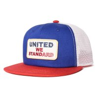 <img class='new_mark_img1' src='https://img.shop-pro.jp/img/new/icons50.gif' style='border:none;display:inline;margin:0px;padding:0px;width:auto;' />【STANDARD CALIFORNIA】SD UNITED WE STANDARD TWILL MESH CAP BLUE/RED/WHITE キャップ スタンダードカリフォルニア