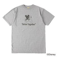 <img class='new_mark_img1' src='https://img.shop-pro.jp/img/new/icons50.gif' style='border:none;display:inline;margin:0px;padding:0px;width:auto;' />【STANDARD CALIFORNIA】DISNEY BETTER TOGETHER T GRAY Tシャツ ディズニー スタンダードカリフォルニア