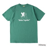 <img class='new_mark_img1' src='https://img.shop-pro.jp/img/new/icons50.gif' style='border:none;display:inline;margin:0px;padding:0px;width:auto;' />【STANDARD CALIFORNIA】DISNEY BETTER TOGETHER T GREEN Tシャツ ディズニー スタンダードカリフォルニア