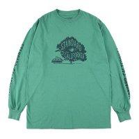 <img class='new_mark_img1' src='https://img.shop-pro.jp/img/new/icons14.gif' style='border:none;display:inline;margin:0px;padding:0px;width:auto;' />【STANDARD CALIFORNIA】SD UNDER THE TREE LONG SLEEVE T GREEN ロンT スタンダードカリフォルニア