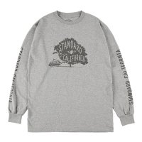 <img class='new_mark_img1' src='https://img.shop-pro.jp/img/new/icons14.gif' style='border:none;display:inline;margin:0px;padding:0px;width:auto;' />【STANDARD CALIFORNIA】SD UNDER THE TREE LONG SLEEVE T GRAY ロンT スタンダードカリフォルニア