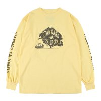 <img class='new_mark_img1' src='https://img.shop-pro.jp/img/new/icons14.gif' style='border:none;display:inline;margin:0px;padding:0px;width:auto;' />【STANDARD CALIFORNIA】SD UNDER THE TREE LONG SLEEVE T YELLOW ロンT スタンダードカリフォルニア