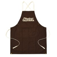 <img class='new_mark_img1' src='https://img.shop-pro.jp/img/new/icons14.gif' style='border:none;display:inline;margin:0px;padding:0px;width:auto;' />【STANDARD CALIFORNIA】SD CANVAS APRON BROWN キャンバスエプロン スタンダードカリフォルニア