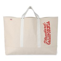<img class='new_mark_img1' src='https://img.shop-pro.jp/img/new/icons14.gif' style='border:none;display:inline;margin:0px;padding:0px;width:auto;' />【STANDARD CALIFORNIA】SD MADE IN USA CANVAS TOTE BAG LARGE NATURAL キャンバストート スタンダードカリフォルニア