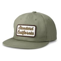 <img class='new_mark_img1' src='https://img.shop-pro.jp/img/new/icons50.gif' style='border:none;display:inline;margin:0px;padding:0px;width:auto;' />【STANDARD CALIFORNIA】SD LOGO PATCH PIQUE CAP OLIVE ピケキャップ スタンダードカリフォルニア