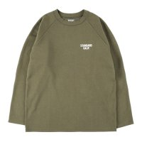 <img class='new_mark_img1' src='https://img.shop-pro.jp/img/new/icons14.gif' style='border:none;display:inline;margin:0px;padding:0px;width:auto;' />【STANDARD CALIFORNIA】SD TECH WARM LONG SLEEVE T OLIVE ロンT スタンダードカリフォルニア