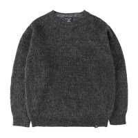 <img class='new_mark_img1' src='https://img.shop-pro.jp/img/new/icons14.gif' style='border:none;display:inline;margin:0px;padding:0px;width:auto;' />【STANDARD CALIFORNIA】SD MOHAIR SWEATER CHARCOAL クルーネックニット スタンダードカリフォルニア