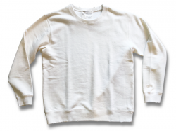 Limited Damage Crew Sweat - Washed White
