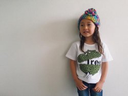 SHIPS KIDS × Cloveru Japan made Tee 【TREE】