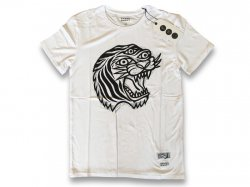 FD Bamboo Straight Tiger Tee WHITE<img class='new_mark_img2' src='//img.shop-pro.jp/img/new/icons47.gif' style='border:none;display:inline;margin:0px;padding:0px;width:auto;' />