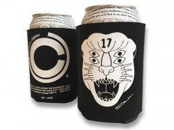 Cloveru Funny Koozie 2017 SUMMER - TIGER Cloveru/ BLACK<img class='new_mark_img2' src='//img.shop-pro.jp/img/new/icons47.gif' style='border:none;display:inline;margin:0px;padding:0px;width:auto;' />
