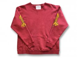 【2TIGER】 JAPAN MADE CREW SWEAT - Cloveru RED<img class='new_mark_img2' src='//img.shop-pro.jp/img/new/icons47.gif' style='border:none;display:inline;margin:0px;padding:0px;width:auto;' />