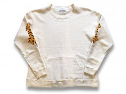 【2TIGER】 JAPAN MADE CREW SWEAT - NATURAL IVORY<img class='new_mark_img2' src='//img.shop-pro.jp/img/new/icons47.gif' style='border:none;display:inline;margin:0px;padding:0px;width:auto;' />