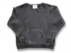 【MUJI】 JAPAN MADE CREW SWEAT - ROCK BLACK<img class='new_mark_img2' src='//img.shop-pro.jp/img/new/icons5.gif' style='border:none;display:inline;margin:0px;padding:0px;width:auto;' />
